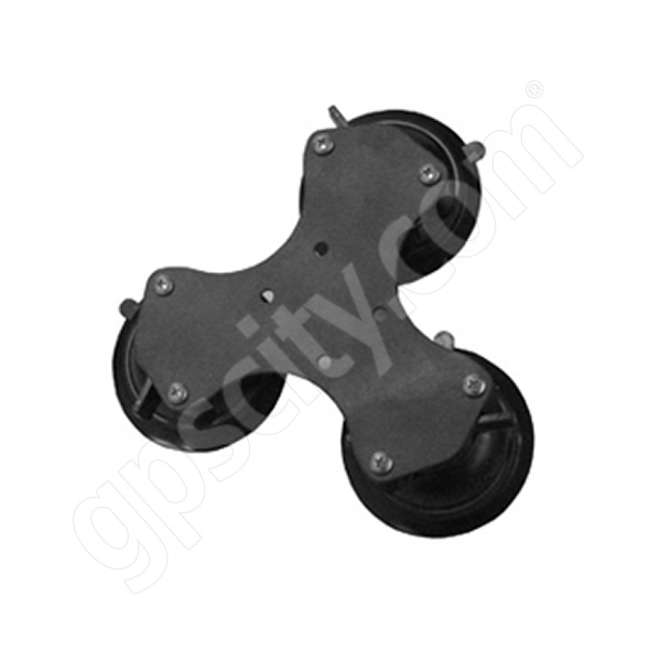 RAM Mount Triple Suction Mount Base Metal Plate RAM-333-224-1U