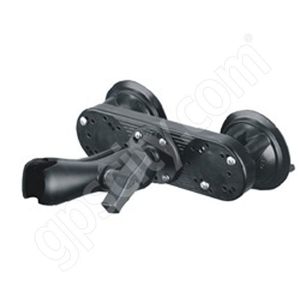 RAM Mount Dual Locking Suction Base with 1.5 inch Ball Mount