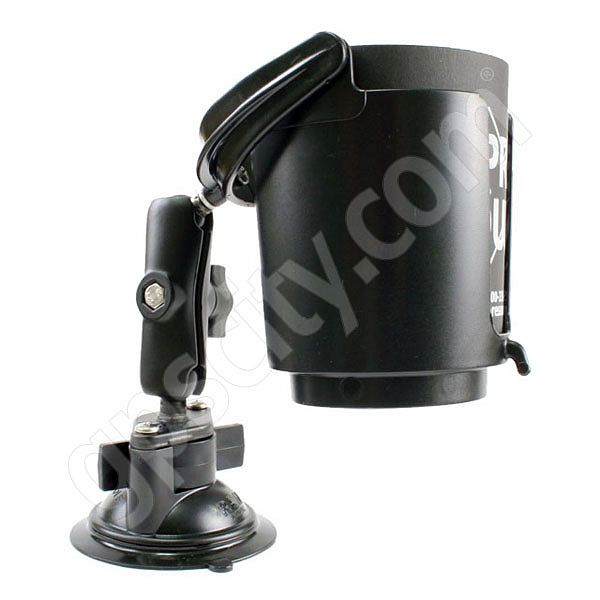 RAM Mount Cup Holder Locking Suction Cup Mount