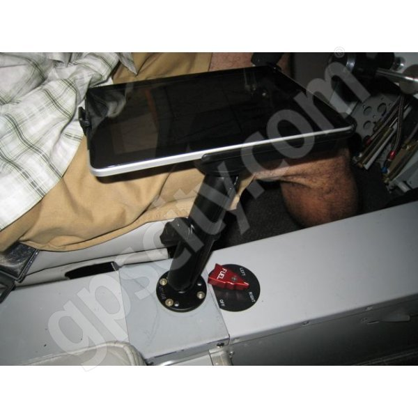 RAM Mount Apple iPad Long Arm Screw Down Swivel Mount RAM-B-138-C-AP8U Additional Photo #1