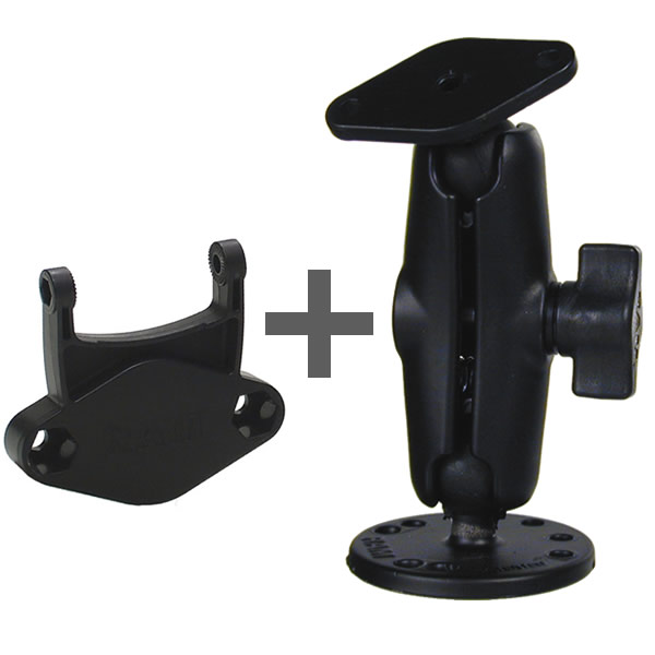 RAM Mount Garmin Cradle Connector Screw Down Plate Mount