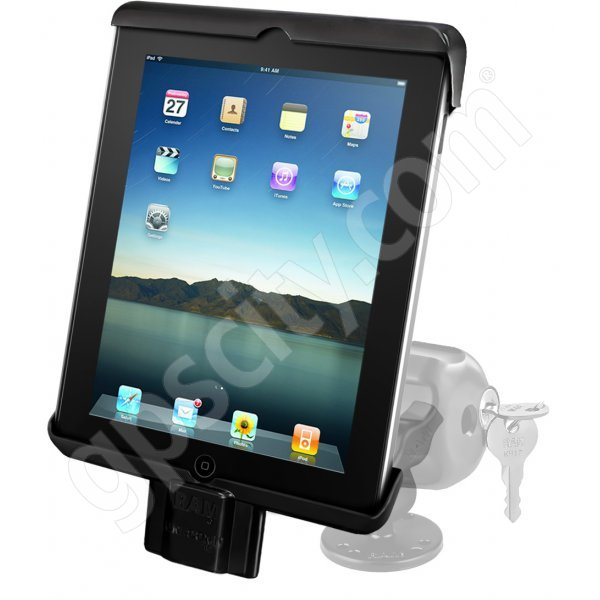 RAM Mount Universal iPad Tab-Lock Uni-Conn Locking Swivel Mount RAM-B-138-TABDL7U Additional Photo #1