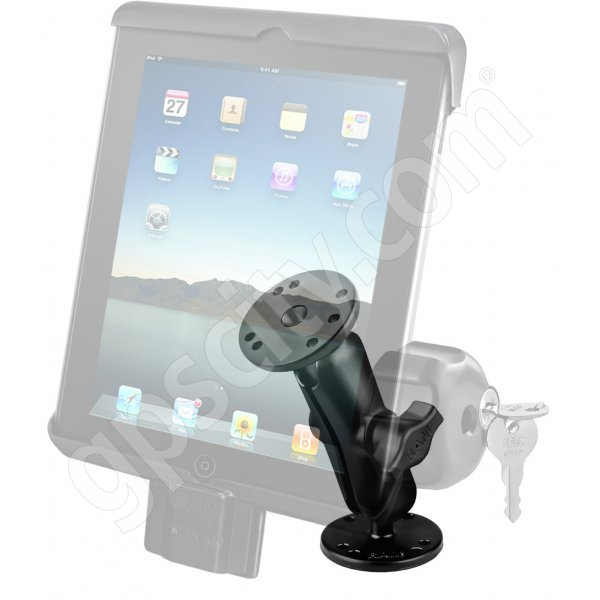 RAM Mount Universal iPad Tab-Lock Uni-Conn Locking Swivel Mount RAM-B-138-TABDL7U Additional Photo #2
