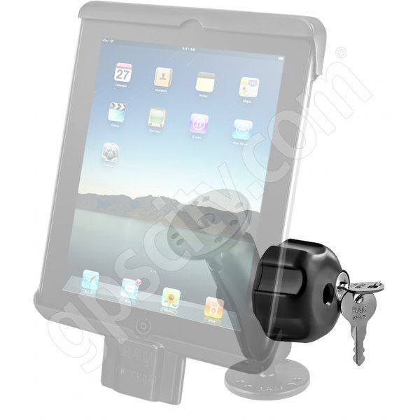 RAM Mount Universal iPad Tab-Lock Uni-Conn Locking Swivel Mount RAM-B-138-TABDL7U Additional Photo #3