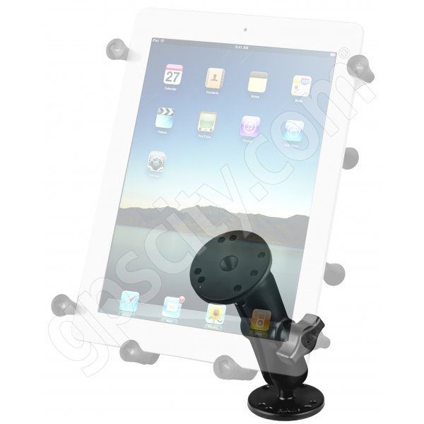 RAM Mount Universal X-Grip III iPad Tablet Screw Down Plate Mount RAM-B-138-UN9U Additional Photo #2