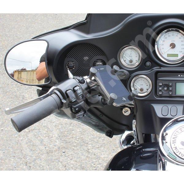 RAM Mount Universal X-Grip Cradle Harley Davidson Mirror ...