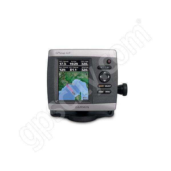 GPSMAP 421 Color Marine GPS on