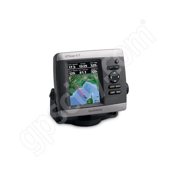 Garmin GPSMAP 421s Sounder with Dual Frequency Transducer Additional Photo #1