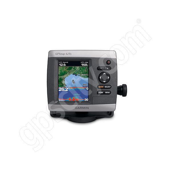Garmin GPSMAP 421s Sounder with Dual Frequency Transducer Additional Photo #3