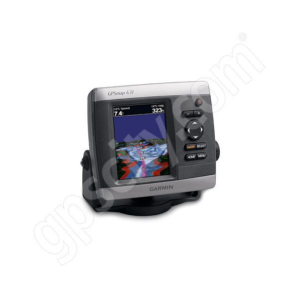 Garmin GPSMAP 431s Sounder with Dual Beam Transducer Additional Photo #1