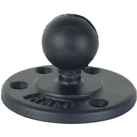 RAM Mount Round 3.68 inch dia Plate with 1.5 inch Ball