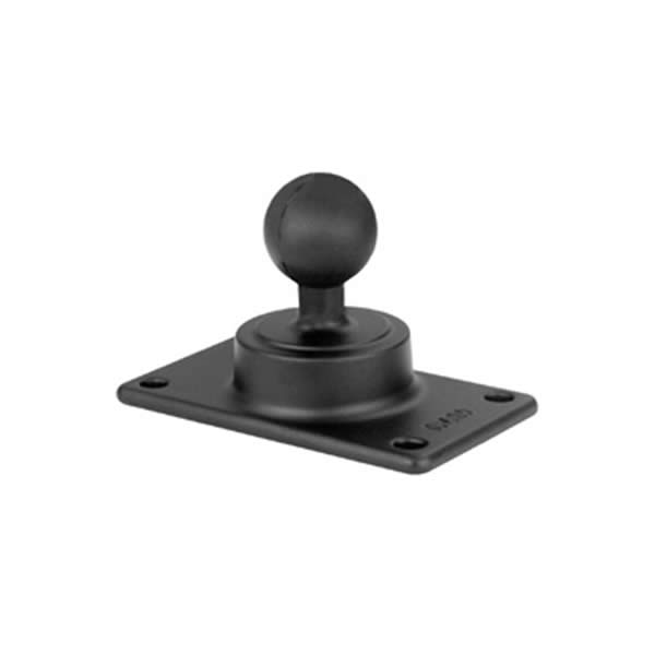 RAM Mount Rectangular 2.81x5 inch Plate with 1.5 inch Ball
