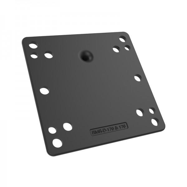 RAM Mount VESA 75 100 Compatible Monitor Plate with 1.5 inch Ball Additional Photo #1