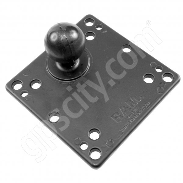 RAM Mount VESA 75 100 Compatible Monitor Plate with 1.5 inch Ball