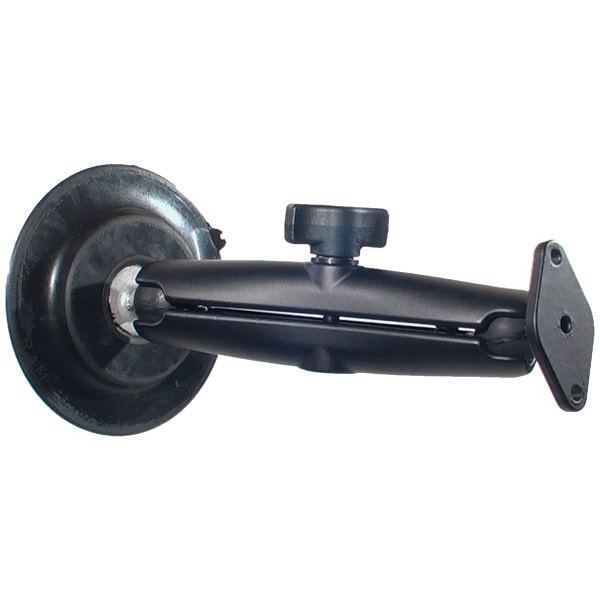 RAM Mount 4 inch dia Suction with Long Arm Diamond Assembly