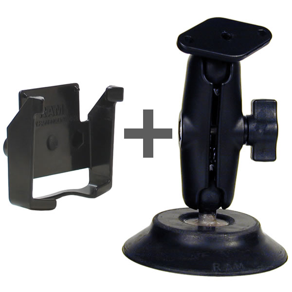 RAM Mount Garmin iQue 3600 Suction Mount RAM-B-148-GA10U