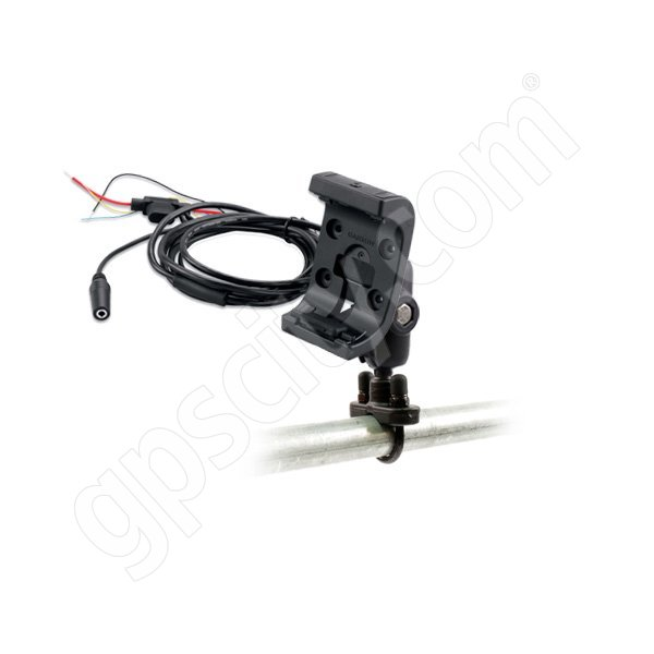 RAM Mount Garmin Montana Powered Rugged Cradle Short Motorcycle Mount Zinc