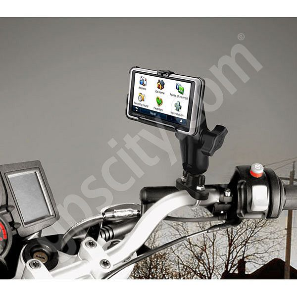 Aluminum Garmin nuvi 1300 and 24x5 Series Stainless Steel U-Bolt Motorcycle  Mount