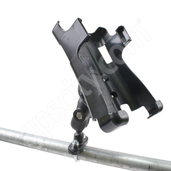 RAM Mount TDS Nomad PDA Zinc Coated U-Bolt Rail Short Mount