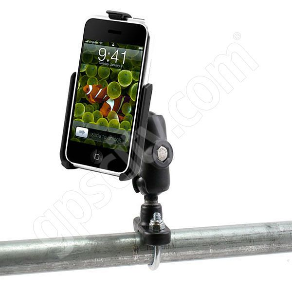 RAM Mount Apple iPhone Short Zinc Coated U-Bolt Mount
