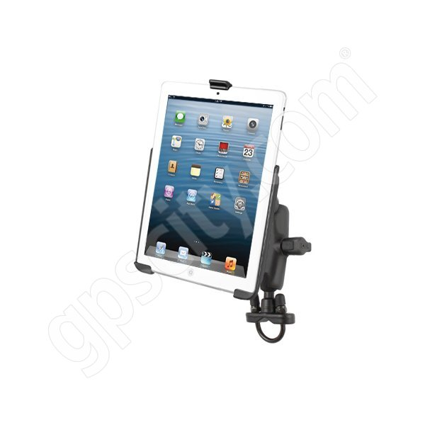 RAM Mount Apple iPad mini Motorcycle Rail Mount Zinc RAM-B-149Z-AP14U