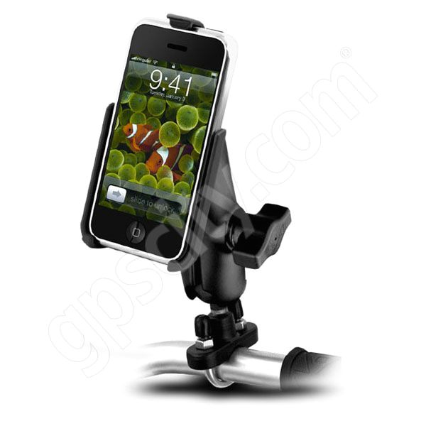 RAM Mount Apple iPhone Zinc U-Bolt Motorcycle Mount