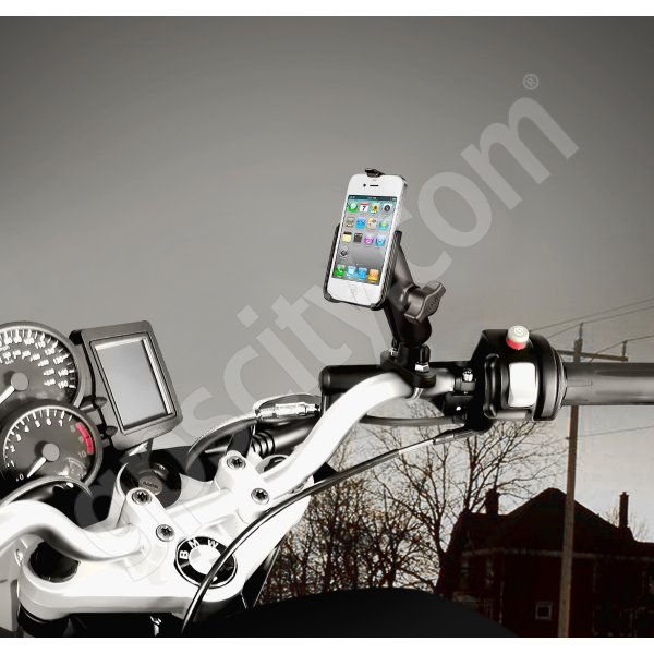 RAM Mount Apple iPhone 4 Motorcycle Mount Zinc RAM-B-149Z-AP9U