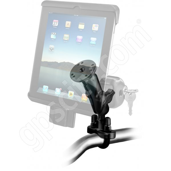 RAM Mount Universal iPad Tab-Lock Uni-Conn Locking Motorcycle and Rail Mount Additional Photo #1