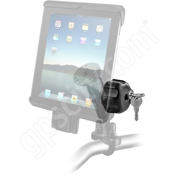 RAM Mount Universal iPad Tab-Lock Uni-Conn Locking Motorcycle and Rail Mount Additional Photo #2