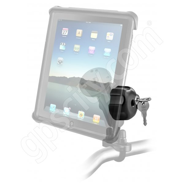 RAM Mount Universal iPad Tab-Lock Locking Motorcycle and Rail Mount Additional Photo #2