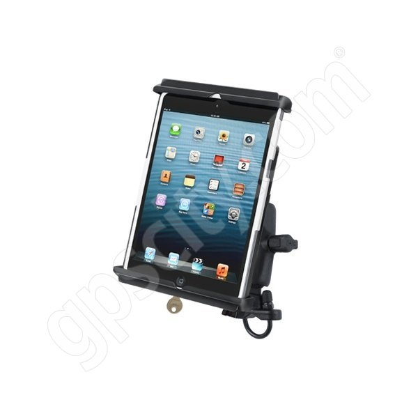 RAM Mount Apple iPad mini Tab-Lock 12 Zinc Handlebar Rail Mount RAM-B-149Z-TABL12U