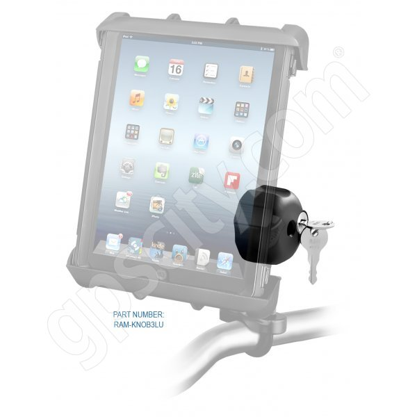 RAM Mount Tab-Lock Large Tablet Locking Zinc Rail Mount RAM-B-149Z-TABL8U Additional Photo #2