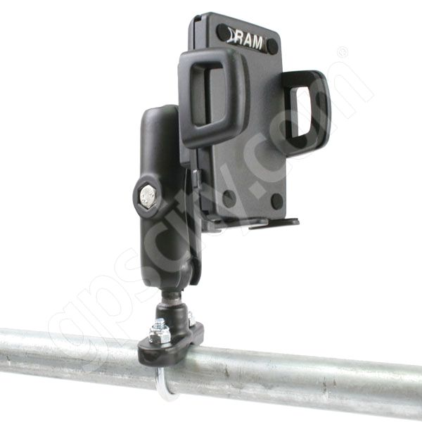 RAM Mount Universal Large Cradle Zinc U-Bolt Rail Mount
