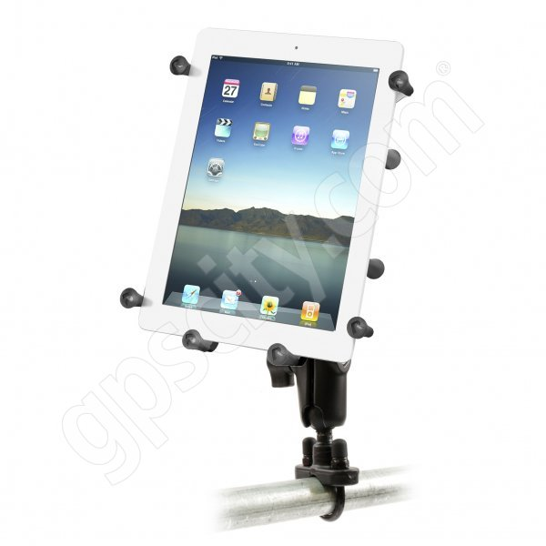 RAM Mount Universal X-Grip III Tablet Cradle Zinc U-Bolt Rail Mount RAM-B-149Z-UN9U