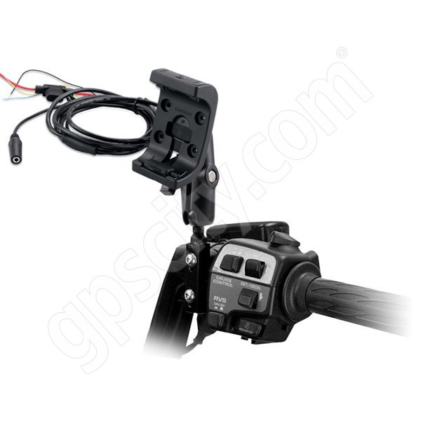 RAM Mount Garmin Montana Powered Rugged Cradle Motorcycle Mount Kit