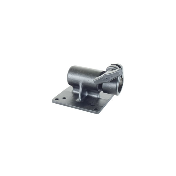 RAM Mount VESA 75mm and 100mm Monitor Plate with 1 inch Post Socket