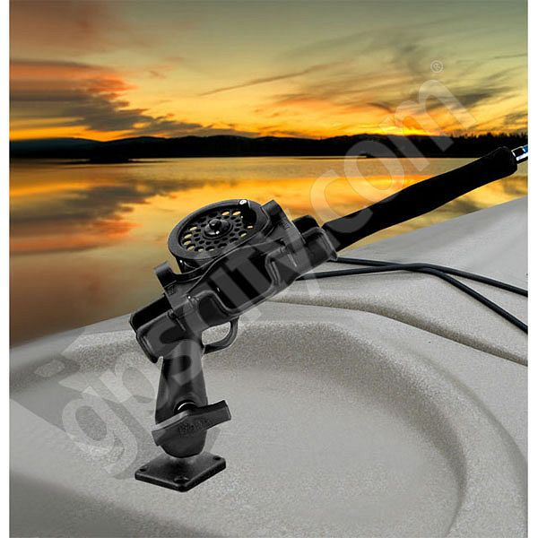 RAM Mount Plastic Screw Down ROD-2007 Jr Fly Fishing Rod Holder Additional Photo #1