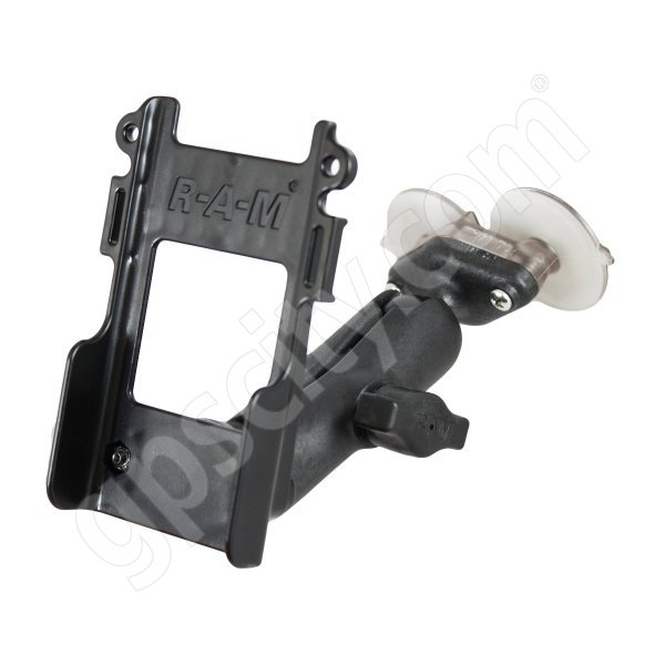 RAM Mount Radio Belt Clip Bar Plastic Suction Mount Assembly