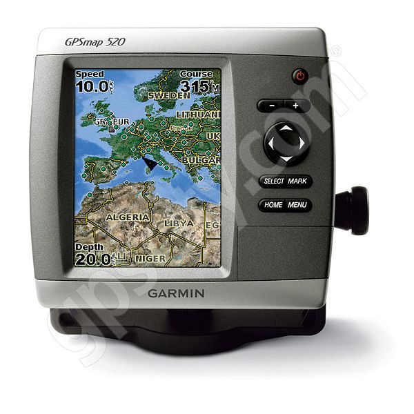Garmin GPSMAP 520s Sounder with Dual Frequency Transducer
