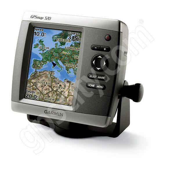 Garmin GPSMAP 520s Sounder with Dual Frequency Transducer Additional Photo #1