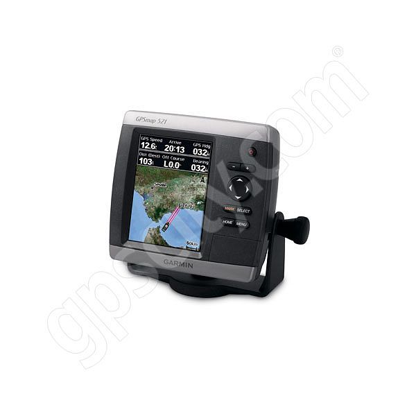 Garmin GPSMAP 521s Sounder with Dual Frequency Transducer Additional Photo #2