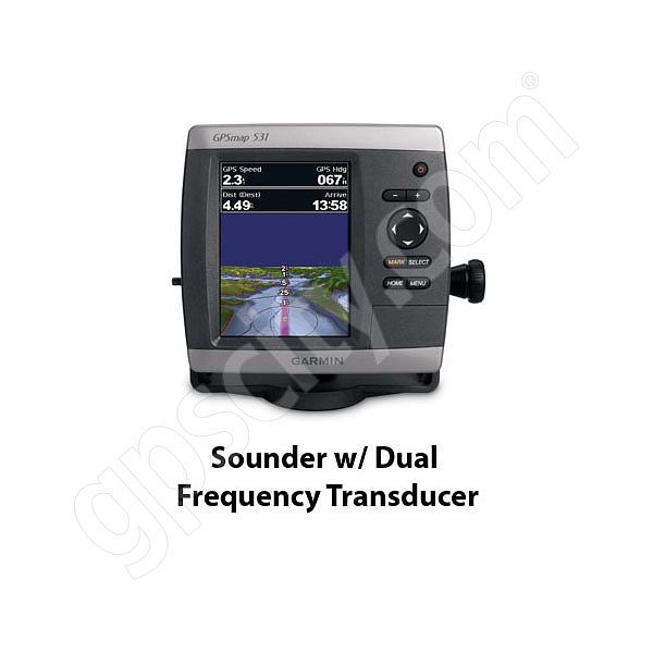 Garmin GPSMAP 531s Sounder with Dual Beam Transducer