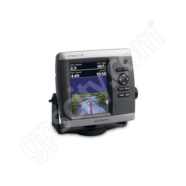 Garmin GPSMAP 531s Sounder with Dual Beam Transducer Additional Photo #1