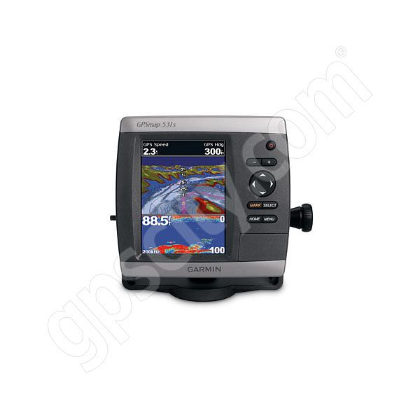Garmin GPSMAP 531s Sounder with Dual Beam Transducer Additional Photo #3