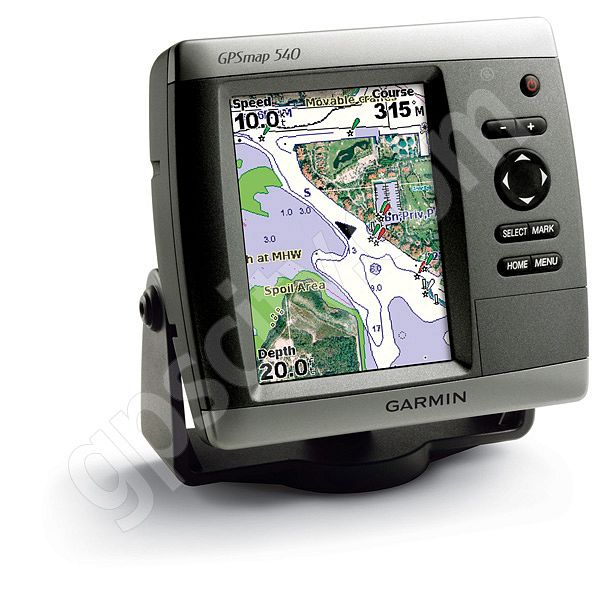 Garmin GPSMAP 540s Sounder with Dual Frequency Transducer Additional Photo #1