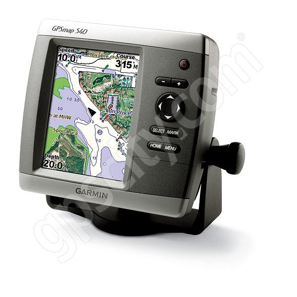 Garmin GPSMAP 540s Sounder with Dual Frequency Transducer Additional Photo #2