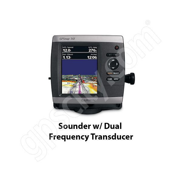 Garmin GPSMAP 541s Sounder with Dual Frequency Transducer