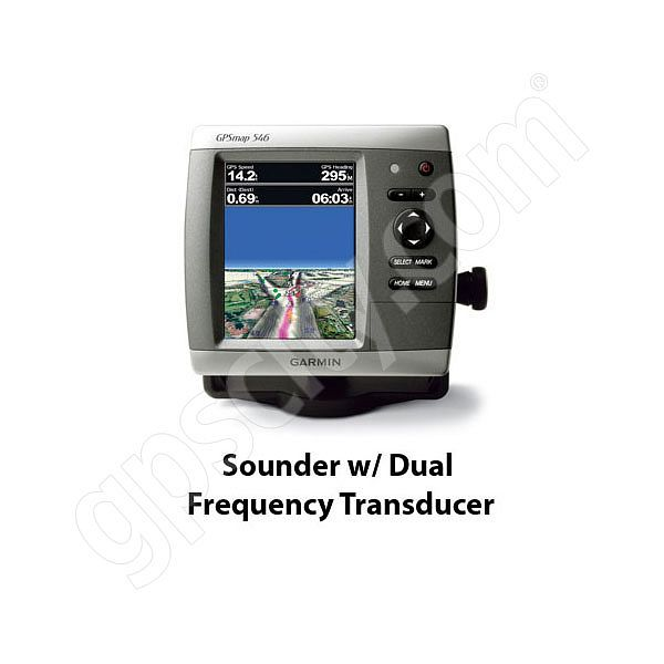 Garmin GPSMAP 546s Sounder with Dual Frequency Transducer
