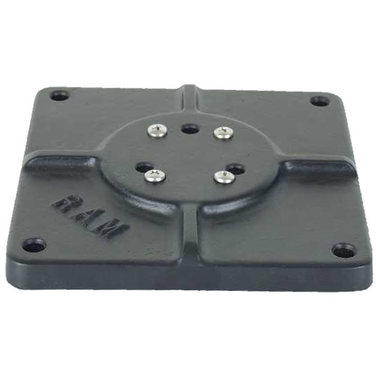 RAM Mount Square 6 inch Universal Plate with 1.5 inch Ball