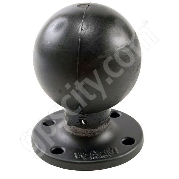 RAM Mount Round 2.5 inch dia Round Plate with 2.25 inch Ball